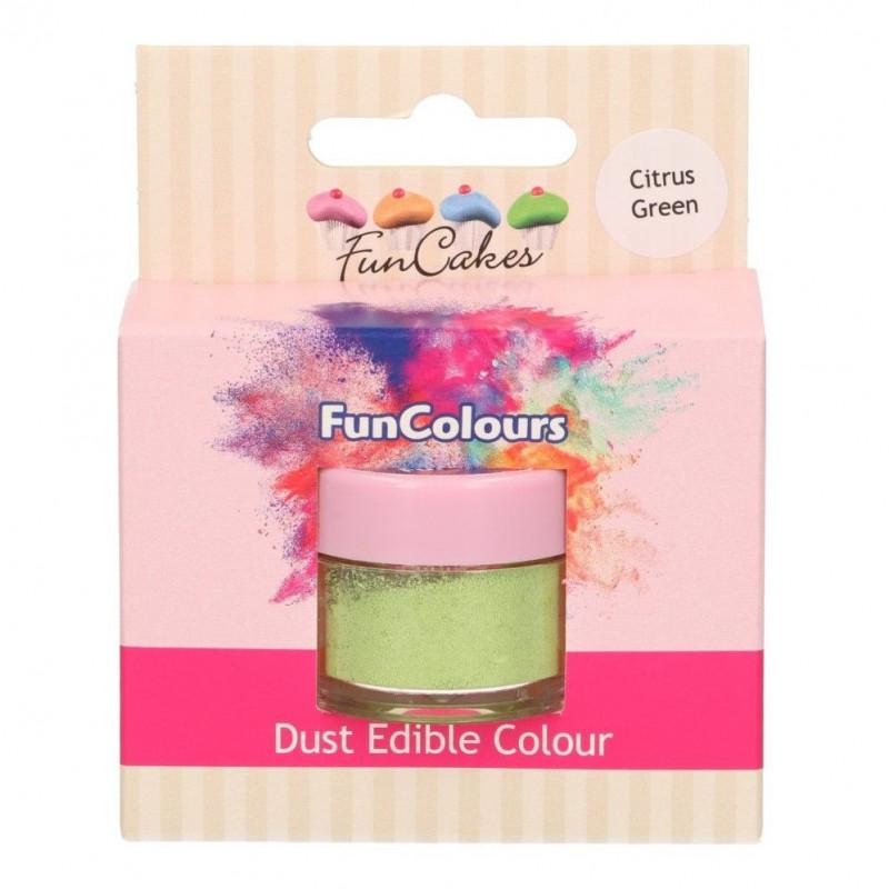 FunCakes Pulverfärg Limegrön