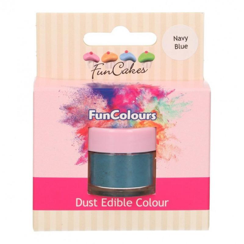 FunCakes Pulverfärg Marinblå
