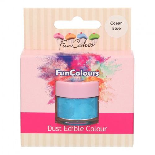 FunCakes Pulverfärg Havsblå