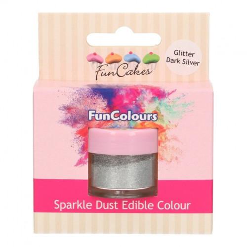FunCakes Ätbart Glitter Silver
