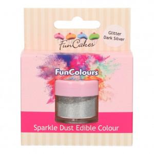 Ätbart Glitter Silver - FunCakes