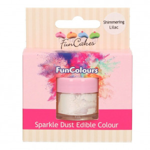FunCakes Skimrande Pulverfärg Shimmering Lilac
