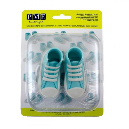 PME Tårtdekoration Ätbara Sneakers, blåa