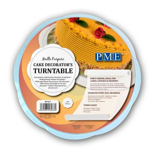 PME Snurrande tårtfat, 27,5 cm