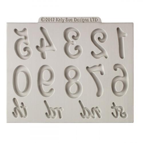 Katy Sue Designs Silikonform Stora Siffror