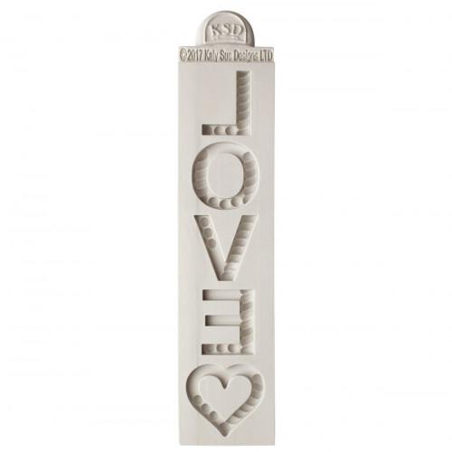 Katy Sue Designs Silikonform Love
