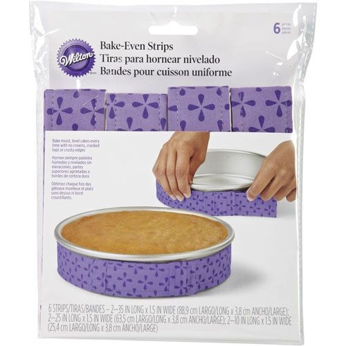Wilton Bakbälte, Bake-even strip, 6 st