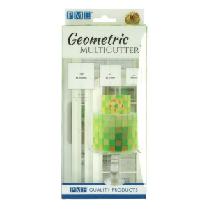 PME Utstickare Multicutter Fyrkant, set, 3 st