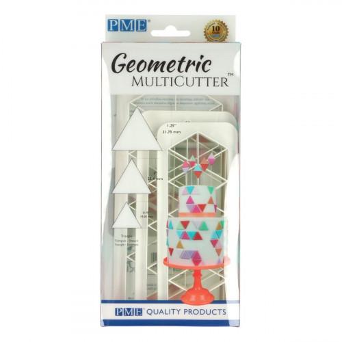 PME Utstickare Multicutter Triangel, set, 3 st