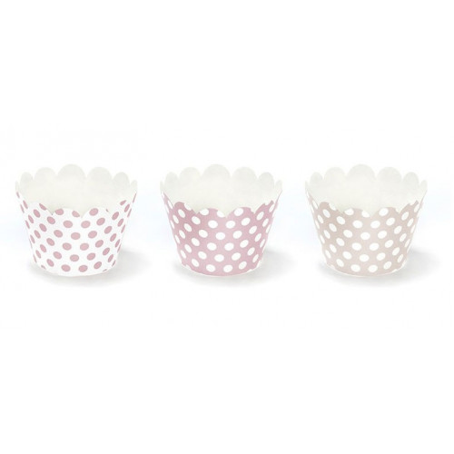 PartyDeco Cupcake Wrappers Prickiga