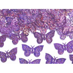 Konfetti Fjärilar, ljusrosa