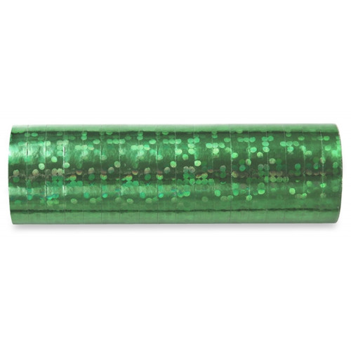 PartyDeco Serpentiner, grön