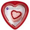 Wilton Bakform Hjärta, röd