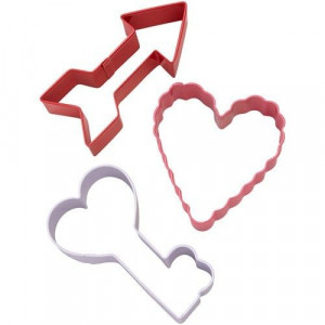 Wilton Utstickare Hjärta pil och nyckel