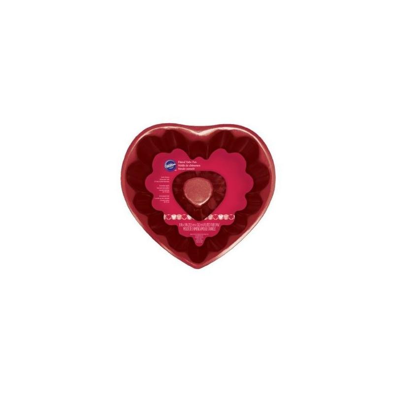 Wilton Sockerkaksform Hjärta, röd