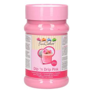 FunCakes Dip 'n Drip Glasyr, rosa