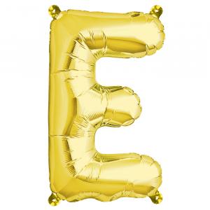 Northstar Bokstavsballong E, guld