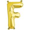 Northstar Bokstavsballong F, guld