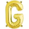 Northstar Bokstavsballong G, guld