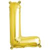 Northstar Bokstavsballong L, guld