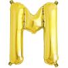 Northstar Bokstavsballong M, guld