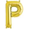 Northstar Bokstavsballong P, guld