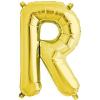 Northstar Bokstavsballong R, guld