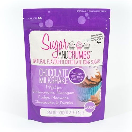 Sugar and Crumbs Smaksatt Florsocker, chokladmilkshake