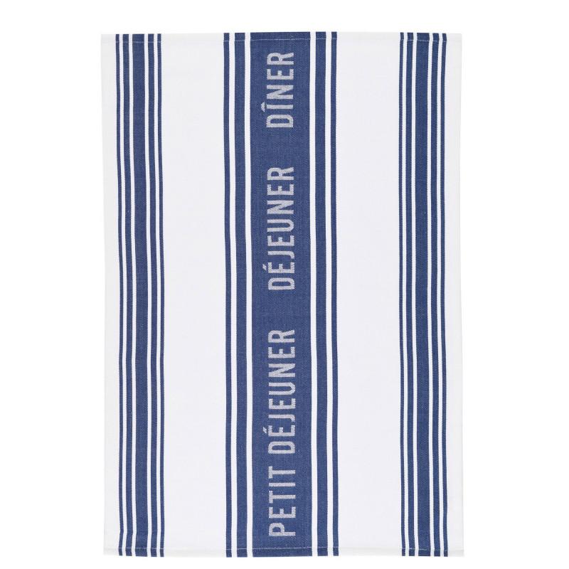 Kitchen Craft Kökshandduk Jacquard Dark Blue, 2-pack