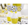 PartyDeco Cupcake Toppers Blommor