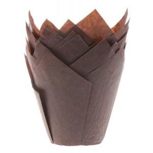 House of Marie Muffinsform Tulip, brun