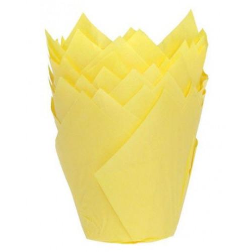 House of Marie Muffinsform Tulip, gul