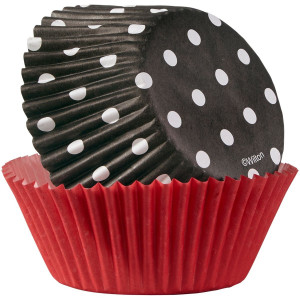 Muffinsform Black Dot - Wilton