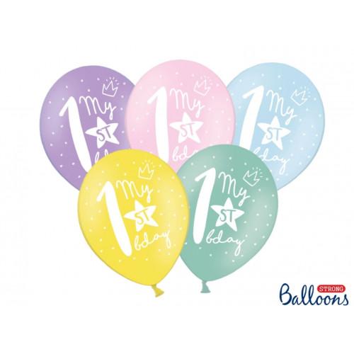 PartyDeco Ballonger, My 1st bday