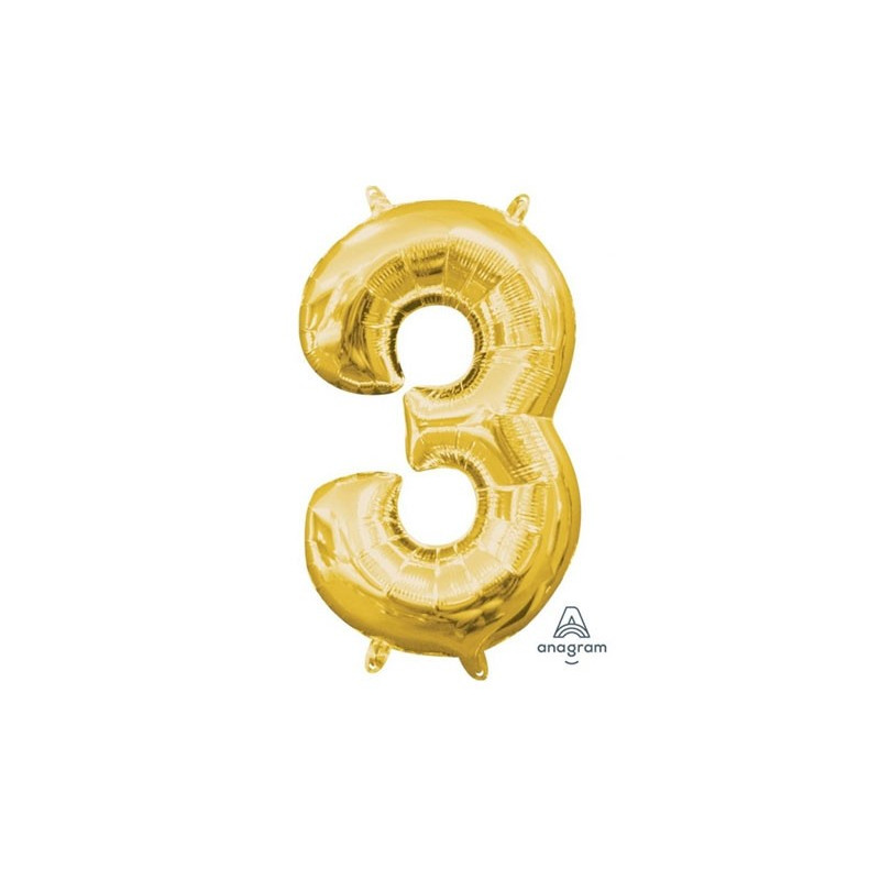 Anagram Sifferballong 3, Guld