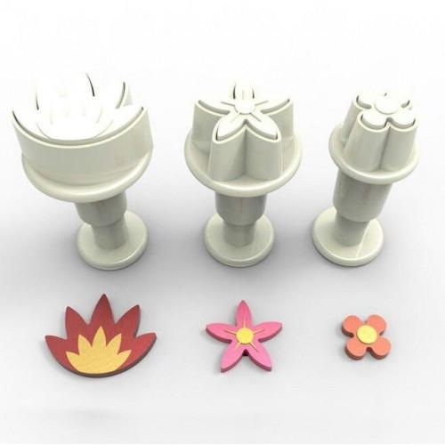 Dekofee Utstickare Mini Set, blommor