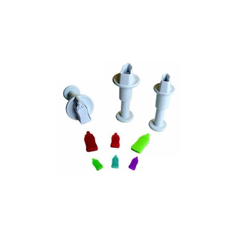 Dekofee Utstickare Mini Set, nappflaska