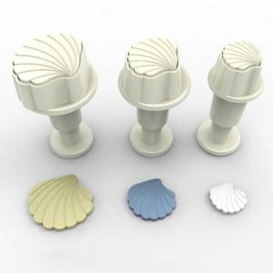 Dekofee Utstickare Mini Set, snäckor