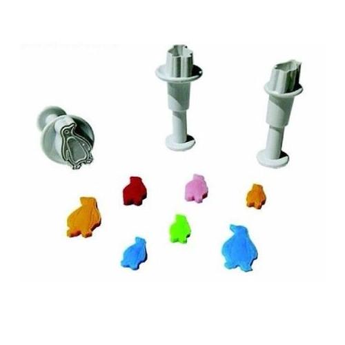 Dekofee Utstickare Mini Set, pingviner