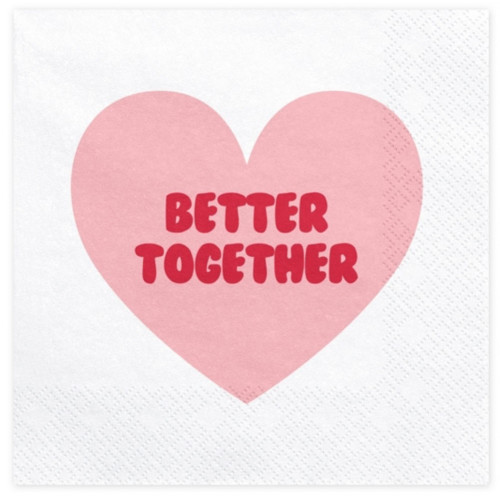 PartyDeco Servetter Better Together