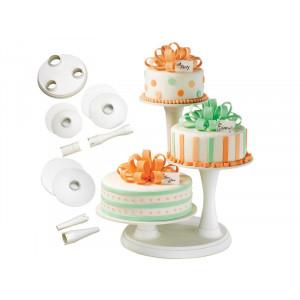 Tårtställning, tre våningar - Wilton