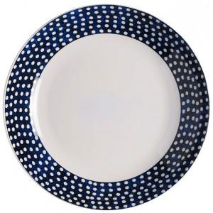 Rosti Mepal Djup tallrik, Flow, blå, 22 cm