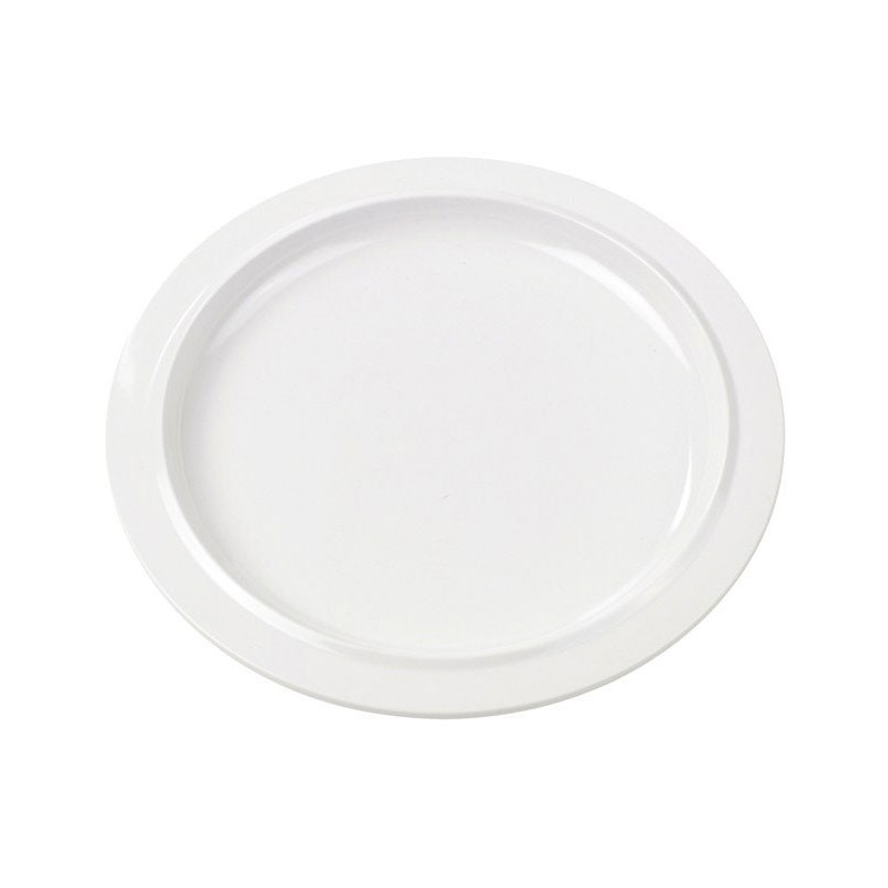 Rosti Mepal Picknick mattallrik, 22 cm, vit