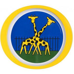 Rosti Mepal Barntallrik Zoo, 21,8 cm