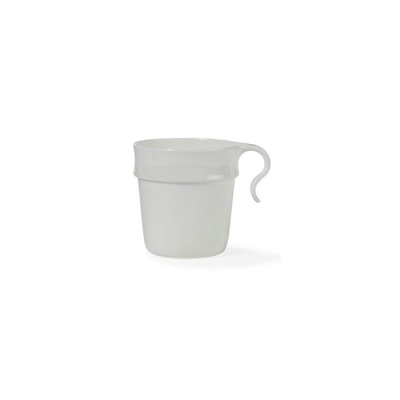 Nordiska Plast Mugg, 30 cl, vit