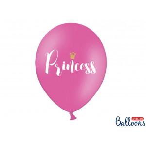 PartyDeco Ballonger Princess, rosa