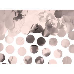 PartyDeco Konfetti cirklar, roséguld