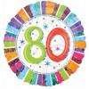 Anagram Ballong i microfolie, 80 år
