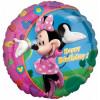 Anagram Ballong i microfolie, Mimmi Pigg, Happy Birthday