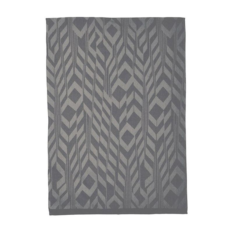 Södahl Kökshandduk, 50 x 70 cm, Deco Feathers, grå
